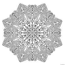 Mandala Kleurplaten Voor Volwassenen Vos Fox Zentangle Style For
