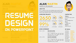 Powerpoint Template Free Download 2015 Maxresdefault One Slide Resume Template Ppt Free Download