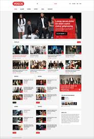 website template video most popular joomla video sharing templates free premium templates