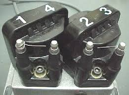 em tech page wrap a short piece of wire around one coil terminal on each coil and leave a 1 4 inch gap