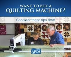 Things to consider when buying a longarm quilting machine | APQS & buying a longarm machine, how-to articles, quilting tips, longarm  maintenance, Adamdwight.com