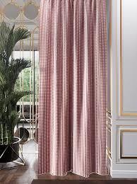 Купить портьеру «<b>Сетдин</b> (брусничный)» розовый по цене 4500 ...