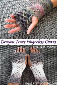 Dragon Gloves Crochet Pattern