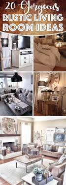 Rustic Living Room 20 Gorgeous Rustic Living Room Ideas That Will Melt Your Heart