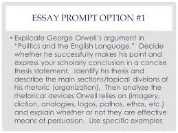 "last class day engl agenda orwell discussion cont ""politics and  11 essay"