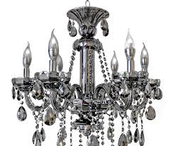chandelier lighting design smoke grey six black crystal for awesome with regard to awesome residence smoke crystal chandelier ideas