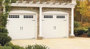 garage door handlesGarage Door  Bead Board with Stockton Windows Blue Ridge Handles