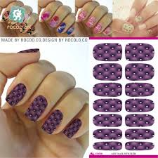 Aliexpress.com : Buy Fashion Water Transfer Foil Nail Art Sticker ...