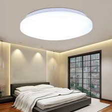 floureon 18w round led ceiling light 85 260v 6000 6500k bright light 2160 lumens 14inch round flush mount