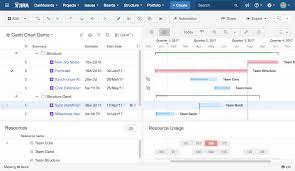 Confluence Timeline Chart Introducing Structure Gantt Structure Gantt Documentation