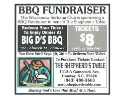 Bbq Fundraiser Flyer Bbq Fundraiser Conway Chamber Of Commerce