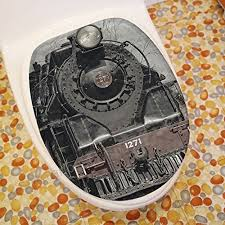 ohyess 3 pcs fairy tale mermaid sea maid beauty bathroom flannel non slip toilet cover seat pad floor mat area rug set