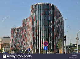 office building facades. Main Point Karlin, Facade Of A Modern Office Building, Which Won The MIPIM Award In 2012, PSJ Invest\u0027s Project With FibreC Building Facades F