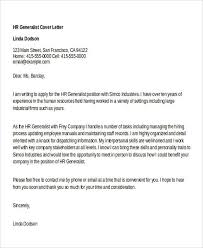 2018 best cover letters for hr generalist cover letter hr generalist popular hr generalist cover letter