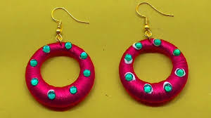 DIY Earrings <b>Designs</b> For Girls / <b>Latest Beads</b> Jewelry <b>Designs 2019</b> ...