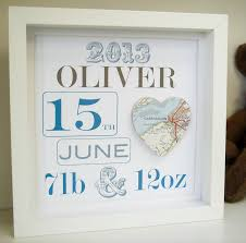 personalised new baby boy s map picture new baby gift by little bird designs notonthehighstreet