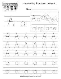 Name Practice Worksheets Abc Tracing Worksheets For Kindergarten ...