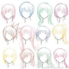 Hair Style Anime hair ref 12 hairstyles by myachan13 on deviantart 1287 by wearticles.com