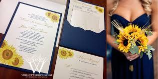 a vibrant wedding custom invitations & stationery design (619 Wedding Invitations Navy And Yellow 5x7\