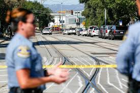 The shooting occurred during a union meeting at a california light rail yard around 6.30am local time. 2bk3d2ujbtimhm