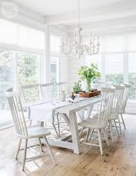 A mix of neutral tones creates subtle depth in this dining area {PHOTO:  Robin