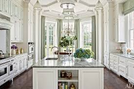 beautiful white french kitchens. Gorgeous White Kitchen, Tremendous Trim And Millwork, Large Center Island Alcove Eating Area Beautiful French Kitchens Pinterest
