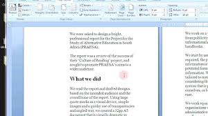 Booklet Template Microsoft Word 2007 Write Happy Ending