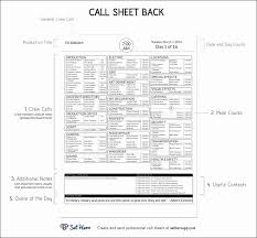 call sheet template excel 15 call sheet template excel besttemplates