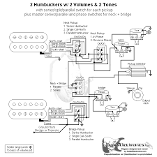 nice 2 humbuckers in series gallery electrical circuit diagram 2 humbuckers 2 volume 1 tone 3 way switch at Guitar Wiring Diagrams 2 Humbucker 3 Way Toggle Switch
