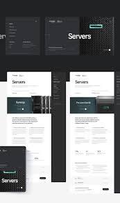 Web Application Homepage Design Tech Data On Behance Web Design Homepage Design Web