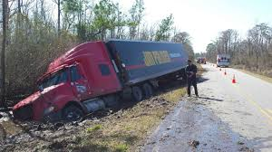 tractor trailer driver unharmed after accident south of columbia 20160229 105746