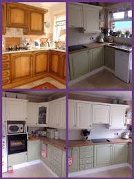 how paint kitchen cabinets without sanding repainting painted laminate professional spray painting cabinet rescue but