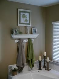 Decorative Bathroom Towel Hooks Master Bathroom I Love This Idea Over The Tub I Just Found My