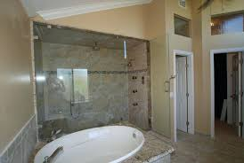 spa tub with shower steam shower w oval spa tub w coffee bar walk in closet