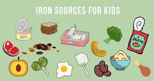 Iron Rich Foods For Kids Healthy Little Foodies