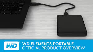 WD Elements Portable   Official Product Overview - YouTube