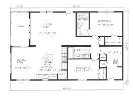 small prefab homes floor plans