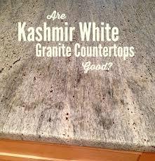 are kashmir white granite countertops good
