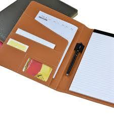 Professional Office File Folders Handmade Pu Leather A4 Folder