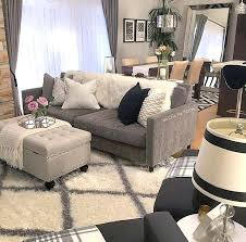 what color rug goes with a gray couch grey walls brown furniture medium size of living