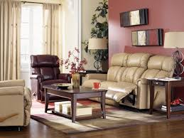 Lazy Boy Living Room Furniture La Z Boy Pinnacle Leather Reclining Living Room Group The