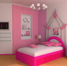 bedroom ideas for teenage girls with medium sized rooms. Wonderful Ideas Simple Pikn Barbie Themed Teen Girl Bedroom Design Decorating Ideas  Throughout For Barbies And Teenage Girls With Medium Sized Rooms G