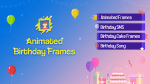 photo frames for birthday birthday song 2 0 screenshot 1