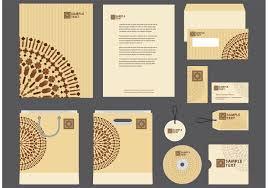 company profile design s motif company profile template vector