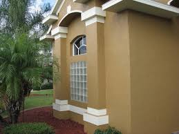 Chalky And Faded Paint House Painting Project In Melbourne Fl - Exterior painting house