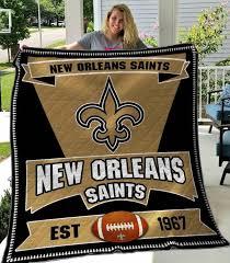 new orleans saints quilt blanket 03