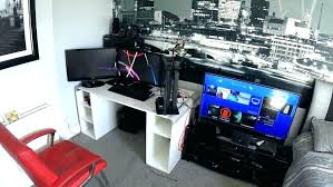 video gaming room furniture. Small Gaming Room Bedroom Setup Video Game Ideas Pictures Furniture Awesome Wall Decor