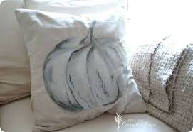 Fall Decorating Ideas   Pottery Barn Knock Off Pumpkin Pillow ~ Fall Pillows  Only Sit On