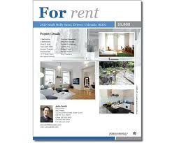 Apartment Rental Flyer Template Apartment For Rent Flyer
