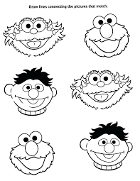 Sesame Street Characters Coloring Pages Camelliacottageinfo